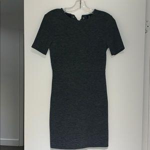 Forever 21 Grey knit dress